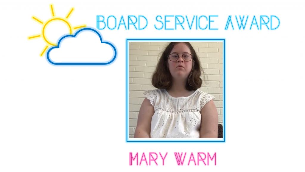NDSC Board Service Award – Mar Warm