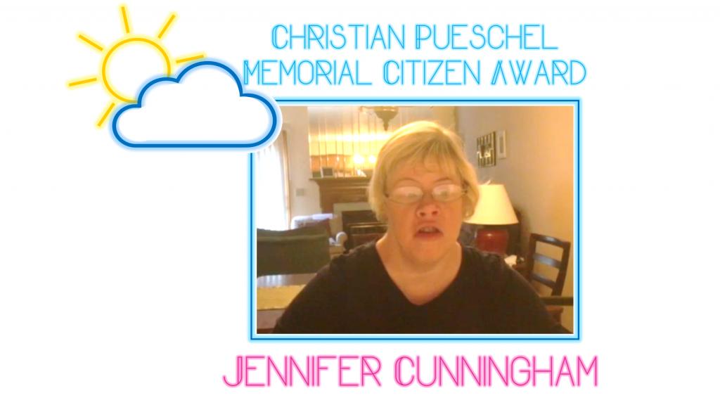 Christian Pueschel Memorial Citizen_Jennifer Cunningham