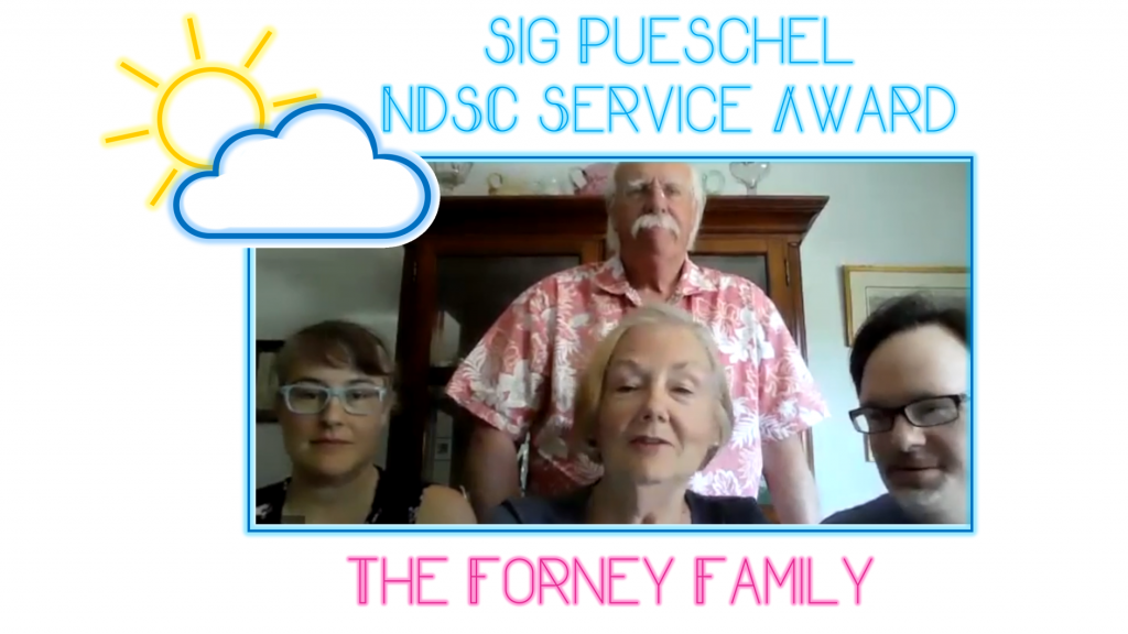 2021 Sig Pueschel Award - The Forney Family