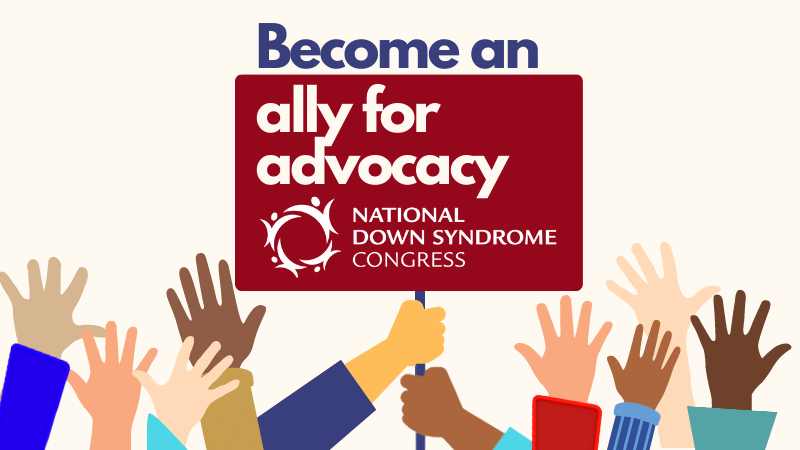 ally for advocacy campaign banner
