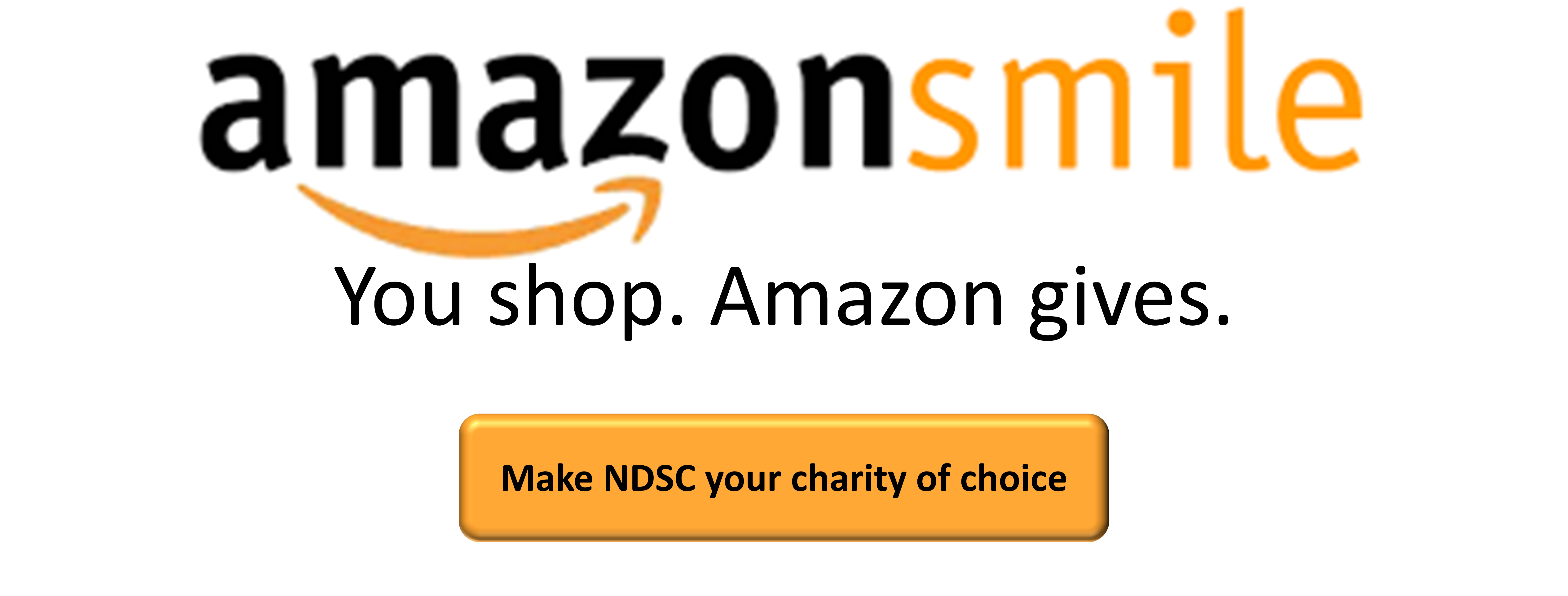 Amazon Smile and NDSC