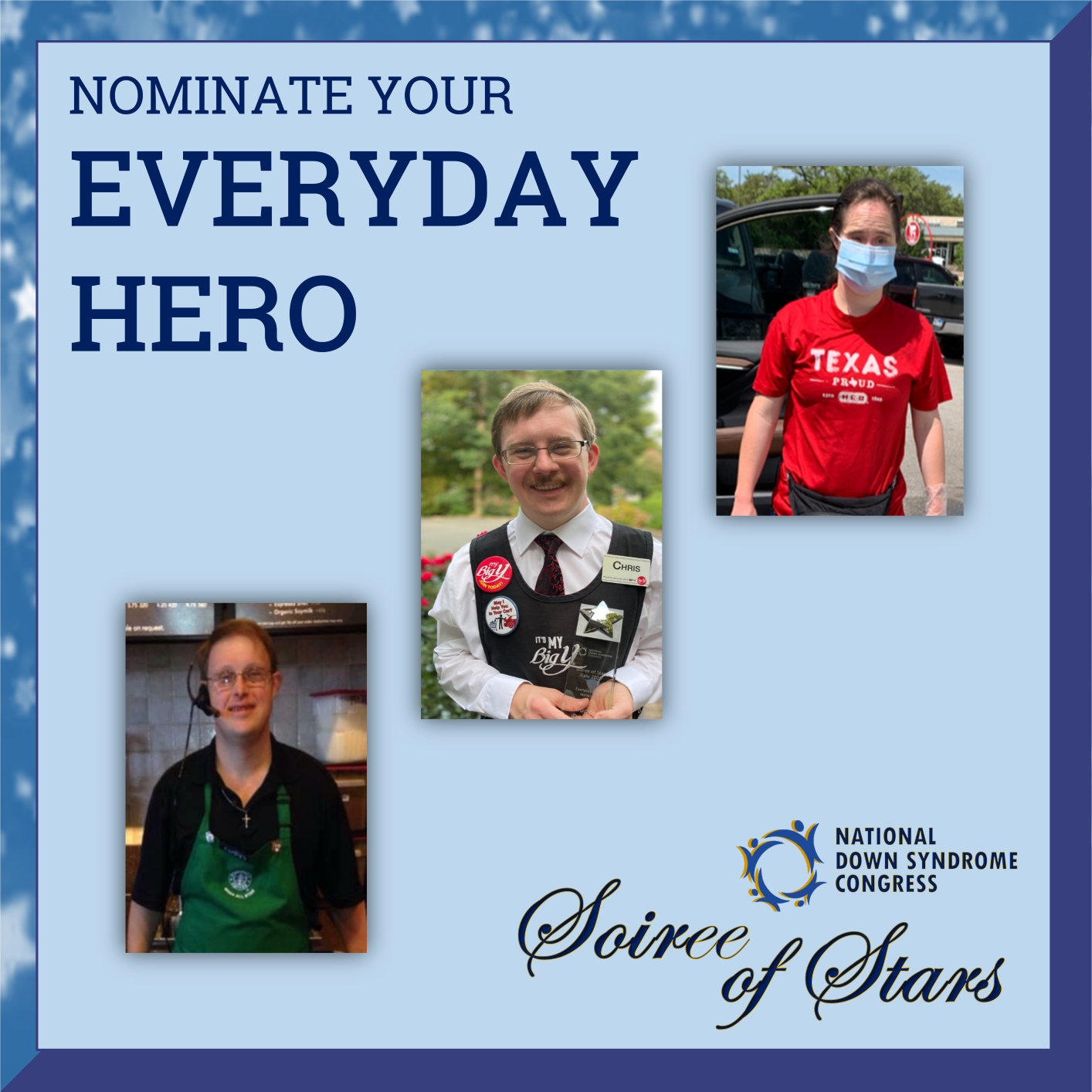 2021 Soiree of Stars Everyday Heroes Nominations